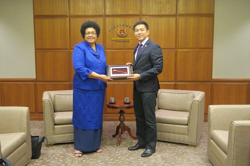Parliament of Fiji visit