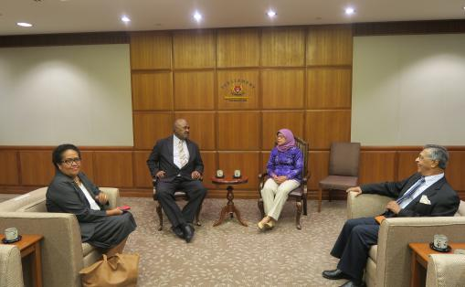 Call on the Speaker of Parliament (2)