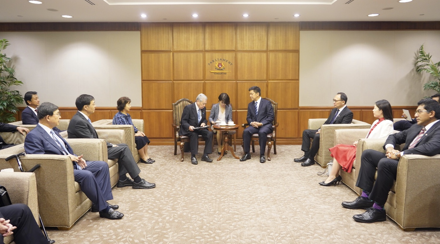 Official Visit by President of Japan's House of Councillors