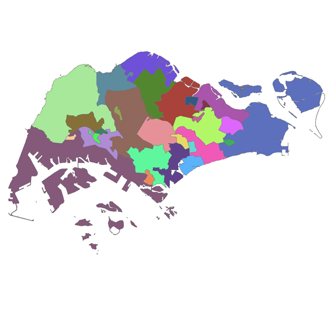 Constituency Boundaries Map | Parliament Of Singapore
