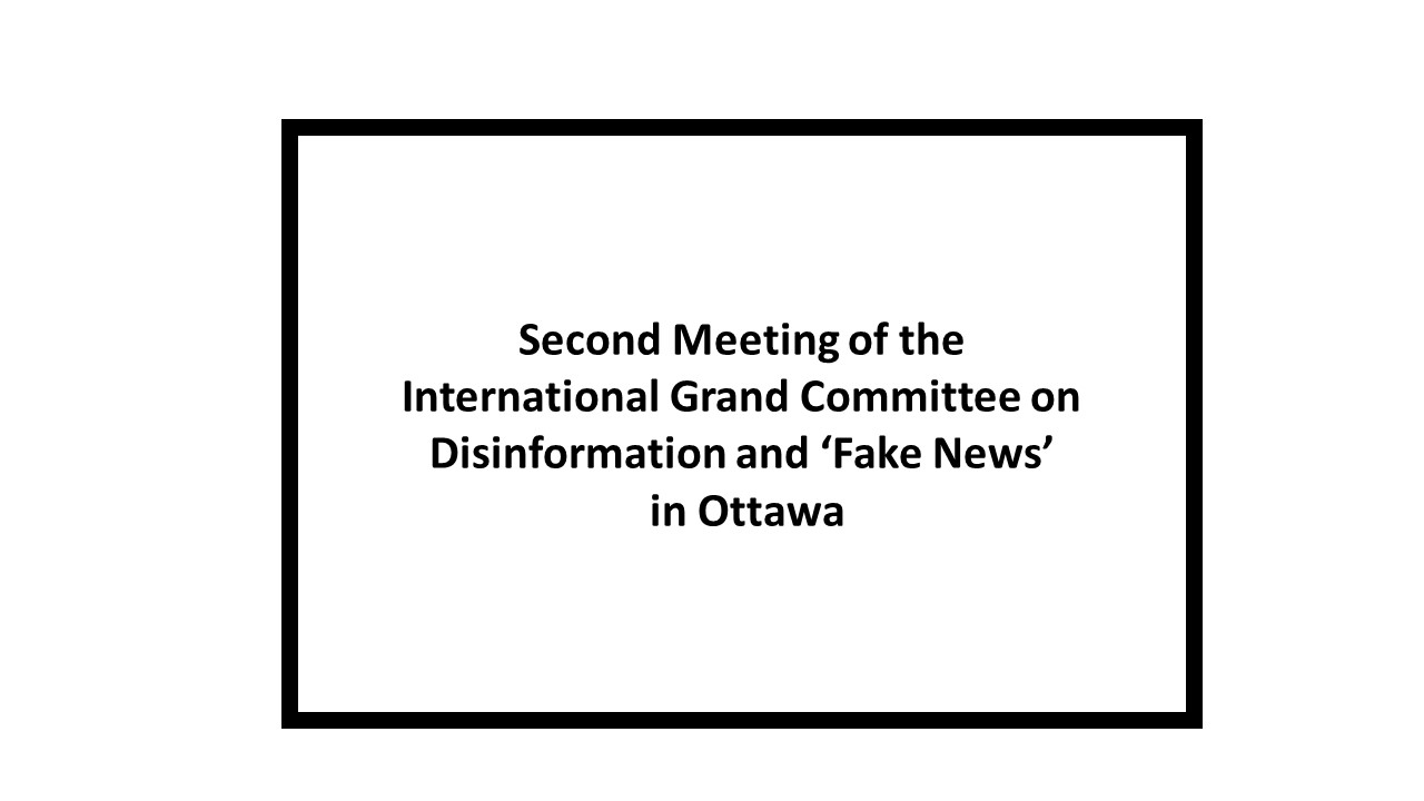 IGC 2nd Meeting in Canada