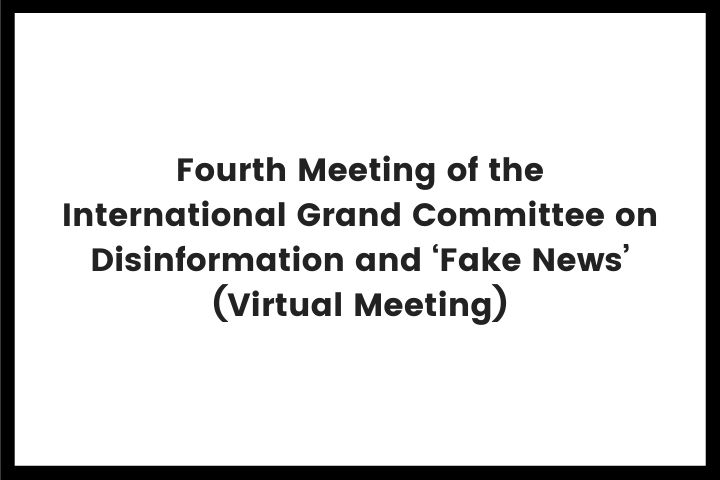 International Grand Committee on Disinformation and Fake News VM